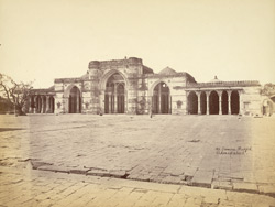 General view of the façade of the Jami Masjid, Ahmadabad 10031687